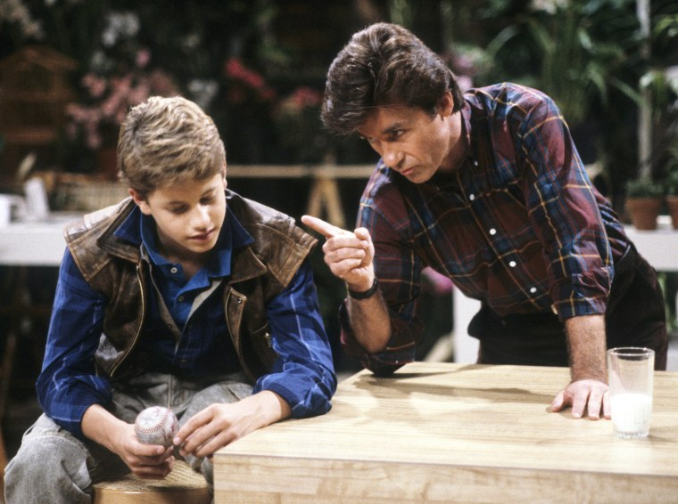 Kirk Cameron, Alan Thicke on Growing Pains