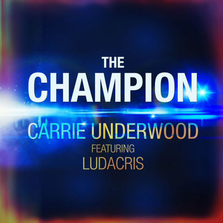 """Carrie Underwood from her new video """"The Champion."""""""