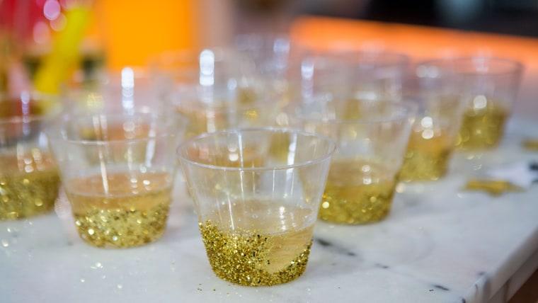 Oscar party Gold cups