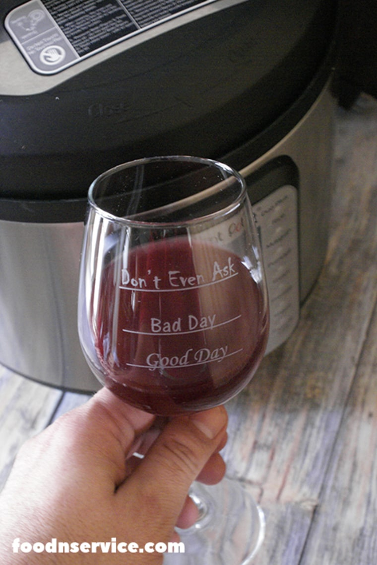 Cheers to you, Instant Pot, for helping me make some Instant Pot wine!