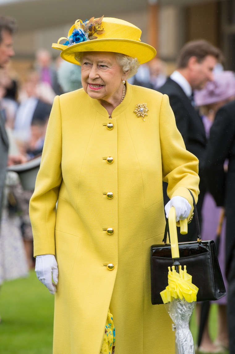 queen elizabeth has an umbrella in every color to match. Black Bedroom Furniture Sets. Home Design Ideas