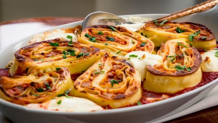 Lasagna Pinwheels