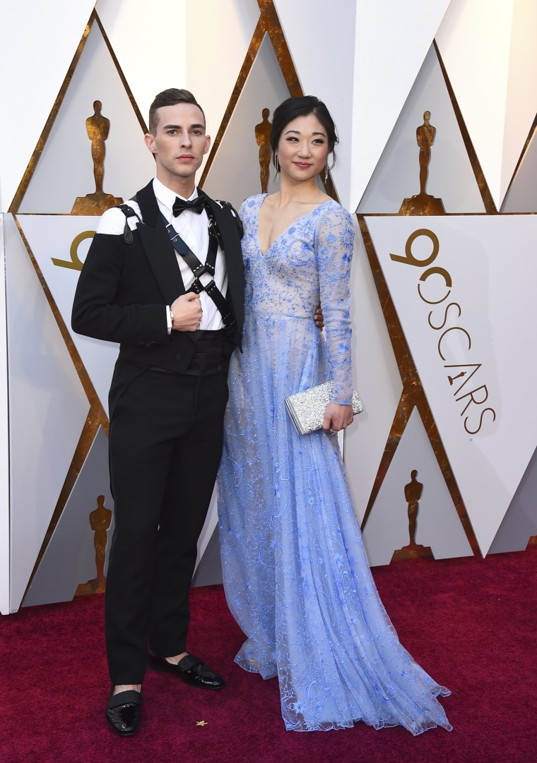 Oscars Adam Rippon, Mirai Nagasu