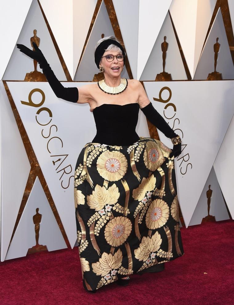 Rita Moreno Oscars