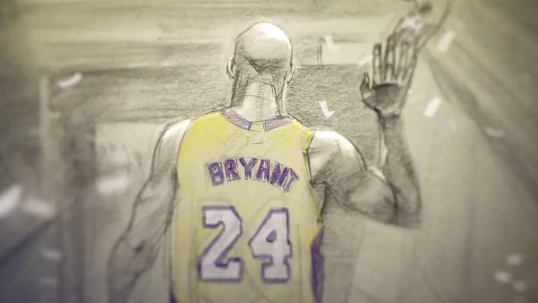 Kobe Bryant's animated short film, Dear Basketball