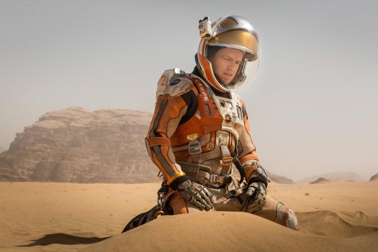 Matt Damon stars as Mark Watney in 20th Century Fox's The Martian.