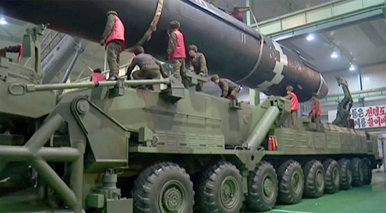 Image: North Korean missile
