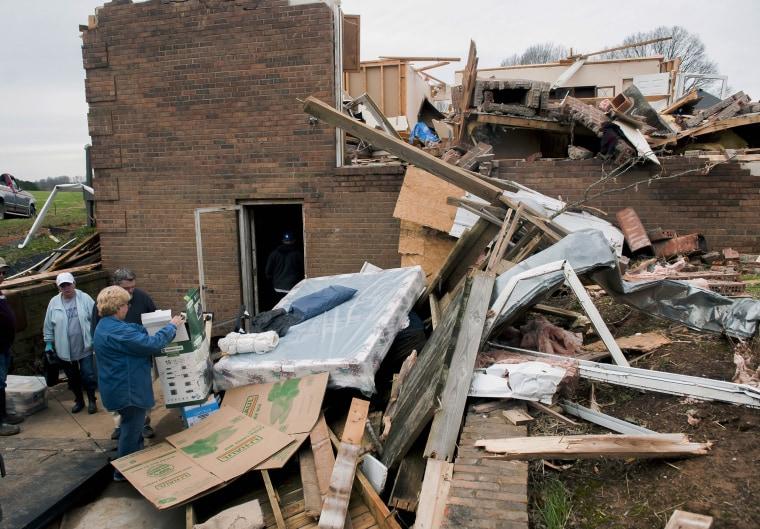 Image: Kentucky tornado damage