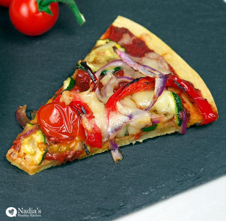 Chickpea Flour Pizza
