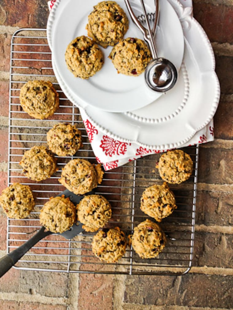 Breakfast Cookies with Cacao Nibs