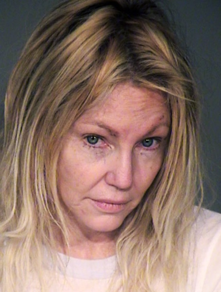 Image: Heather Locklear Booking Photo