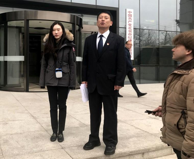 Image: Beijing whistle blower