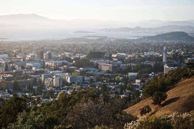 Aerial view of Berkeley