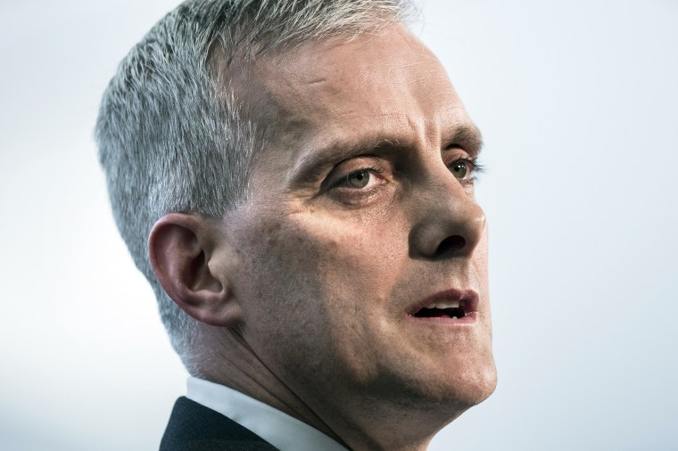 Image: Denis McDonough speaks at the National Security Agency
