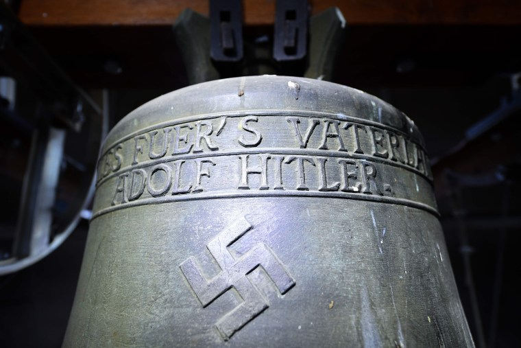 Image: Nazi-era bell at St. Jacob's Church
