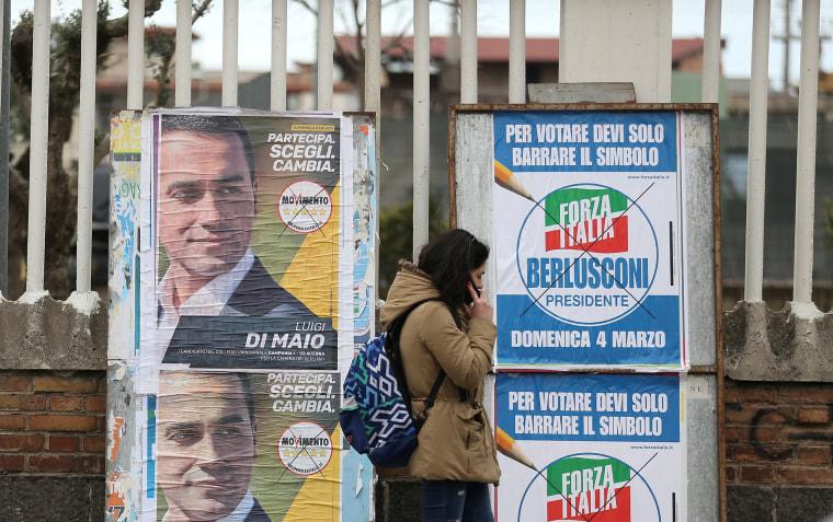 Image: Italian elections