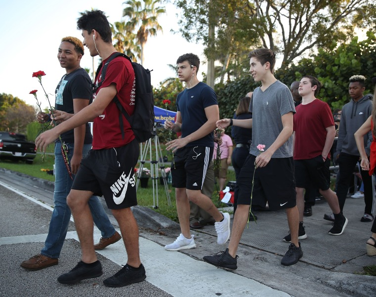 Image: Parkland students return to class