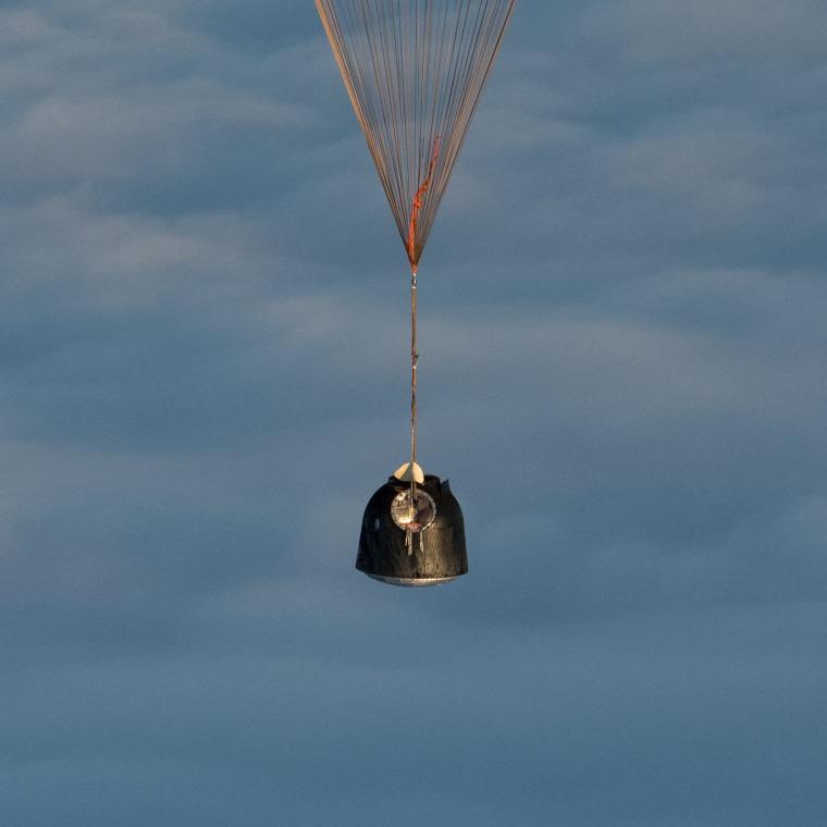 Image: Expedition 54 Soyuz MS-06 Landing