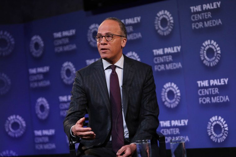 Image: Lester Holt speaks at the The Paley Center for Media in New York