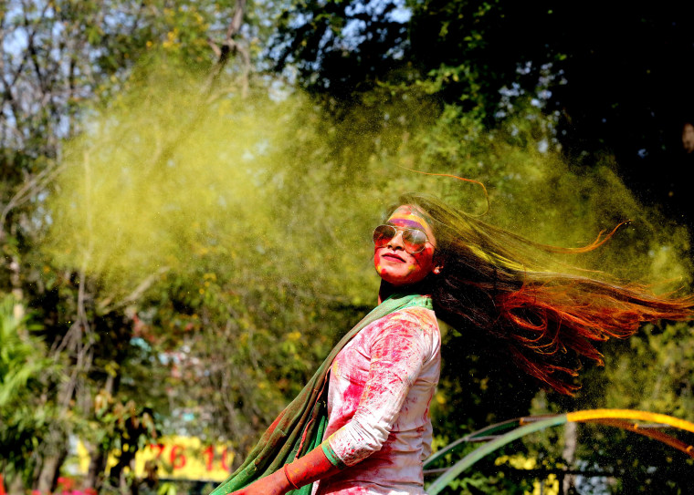 Image: Holi festival in Bhopal