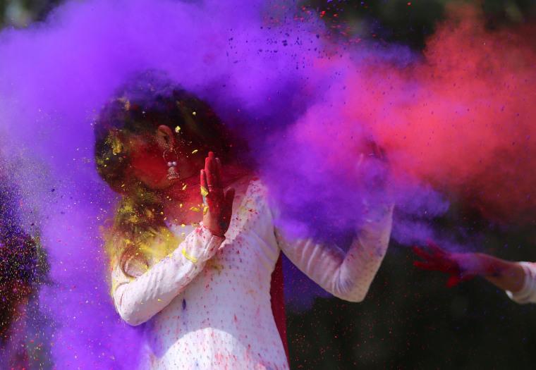 Image: TOPSHOT-INDIA-RELIGION-HINDU-HOLI