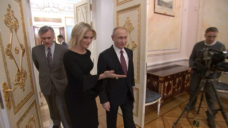 Image: Video Grab Megyn Kelly Interviews Vladimir Putin