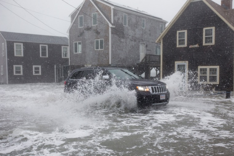 Image: Coastal Storm Brings High Waters