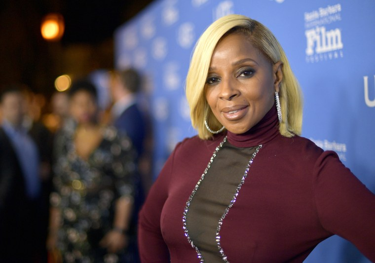 Image:Mary J. Blige at the Santa Barbara International Film Festival