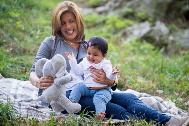 """Hoda says her daughter, Haley, reminds her """"that joy is right in front of you."""""""
