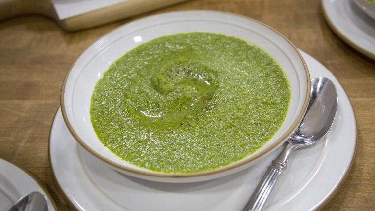 Healing Cream of Greens Soup