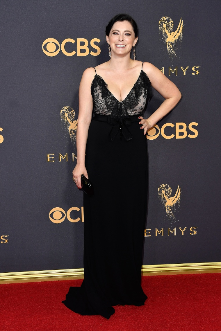 Rachel Bloom at the 2017 Emmys