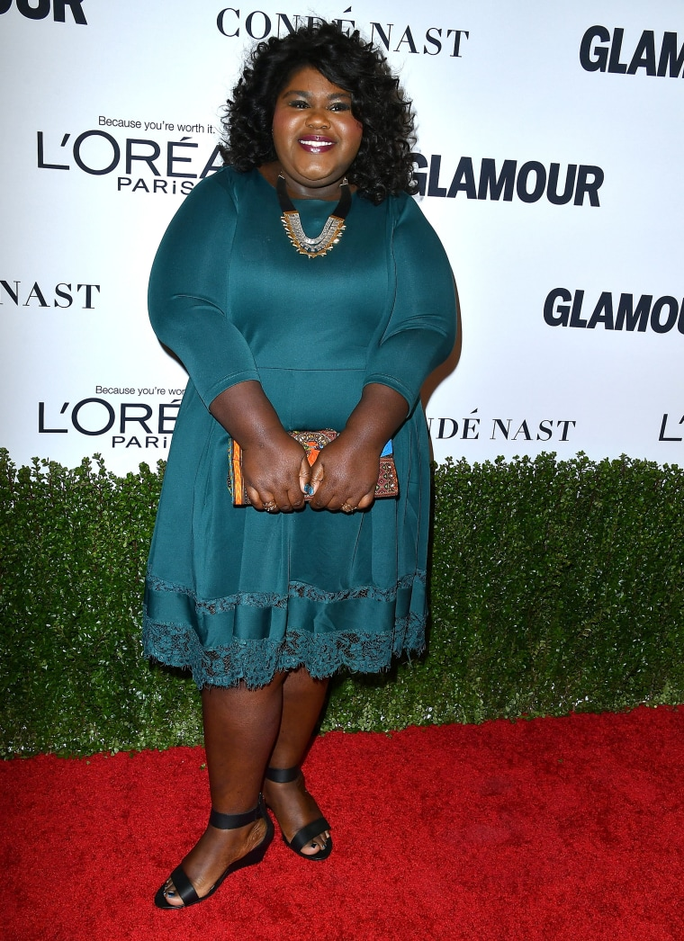 Gabourey Sidibe at the Glamour Women Of The Year 2016