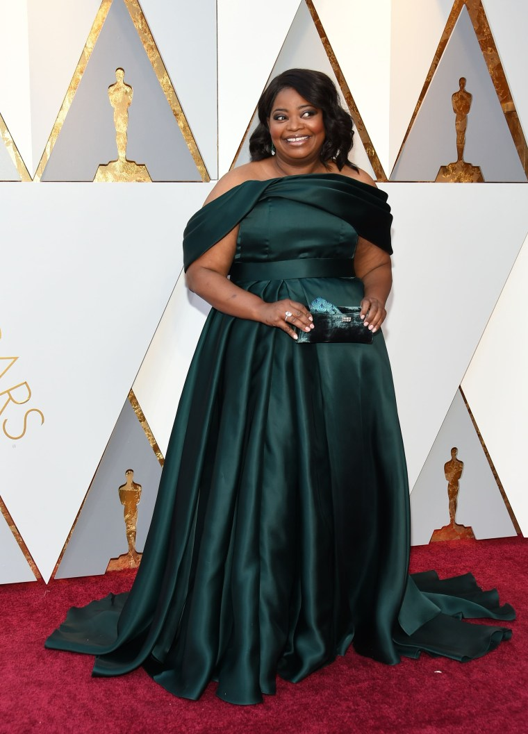 Octavia Spencer at the 2018 Oscars