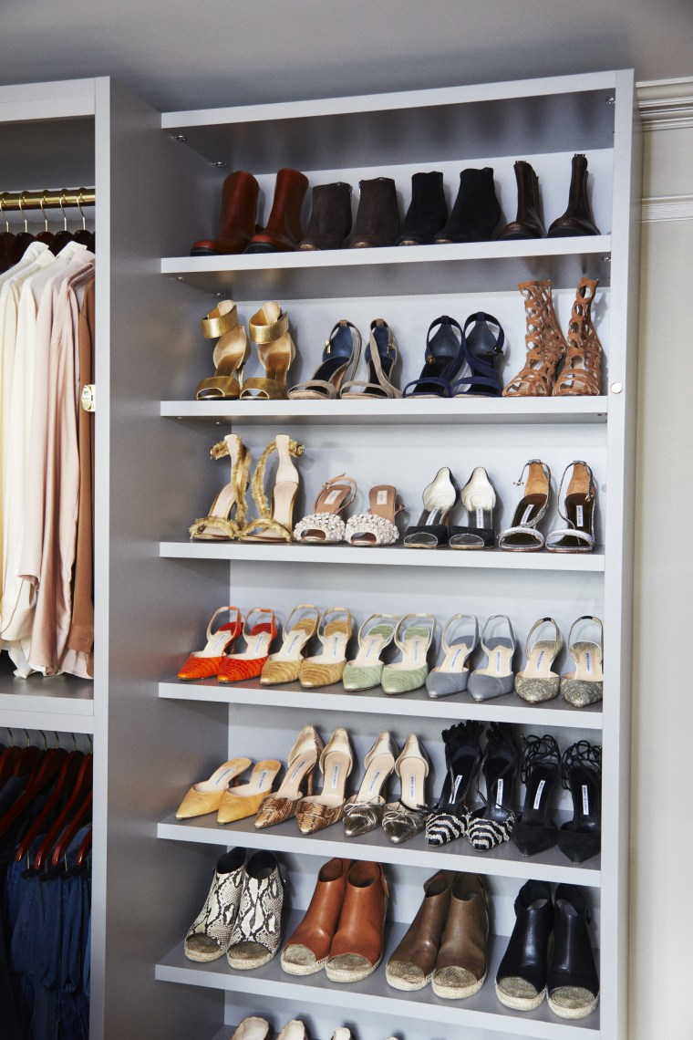 Martha Stewart shares closet organization tips from her own home