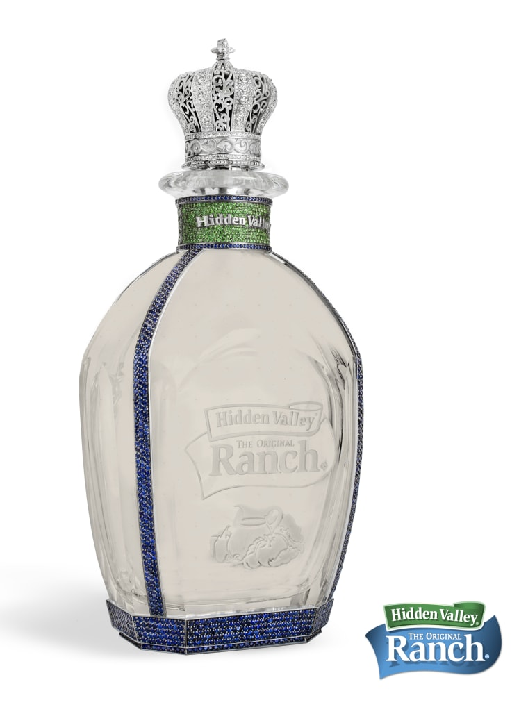 Hidden Valley releases $35K bottle of ranch for a National Ranch Day contest March 10 to May 19.