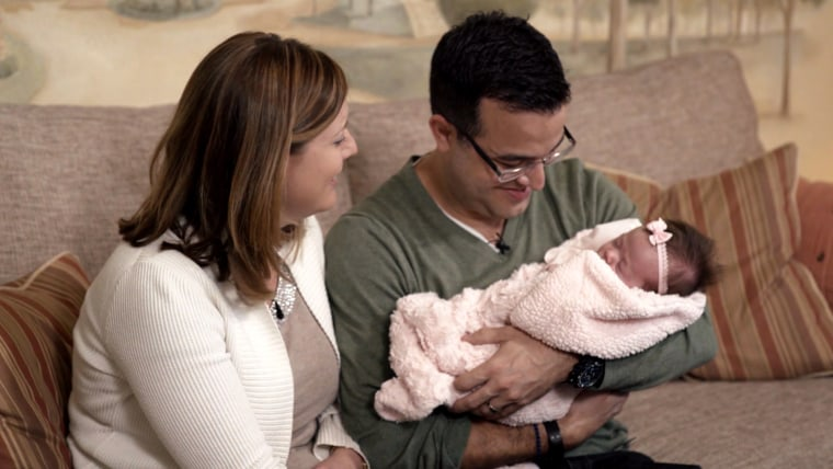 Watch Hoda Kotb tell this couple their adoption dream has come true