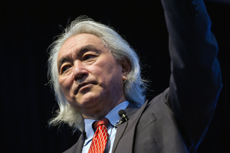 US Michio Kaku, a theoretical physicist