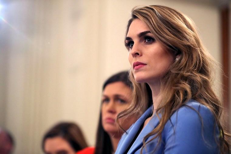 Nadler subpoenas former Trump White House aides Hope Hicks, Annie Donaldson