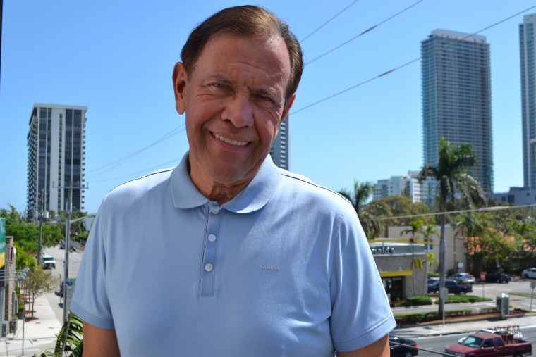 Luis DeRosa, president of the Puerto Rican Chamber of Commerce of South Florida, has seen more Puerto Rican professionals moving to Miami after the hurricane.