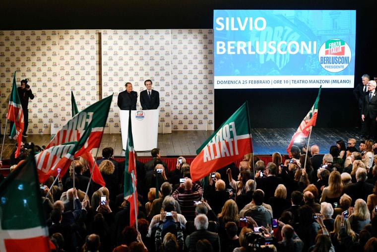 Image: Italy Vote