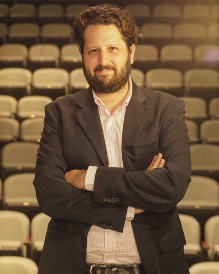 Michel Hausmann, Venezuelan-born theater director and producer.