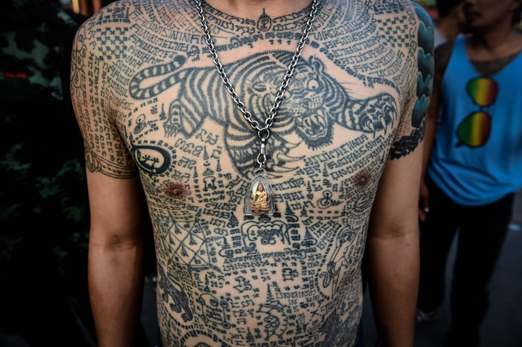 Image: Thailand Religious Tattoo Festival