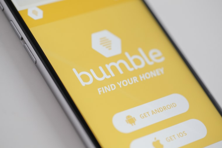 Image: Bumble dating app