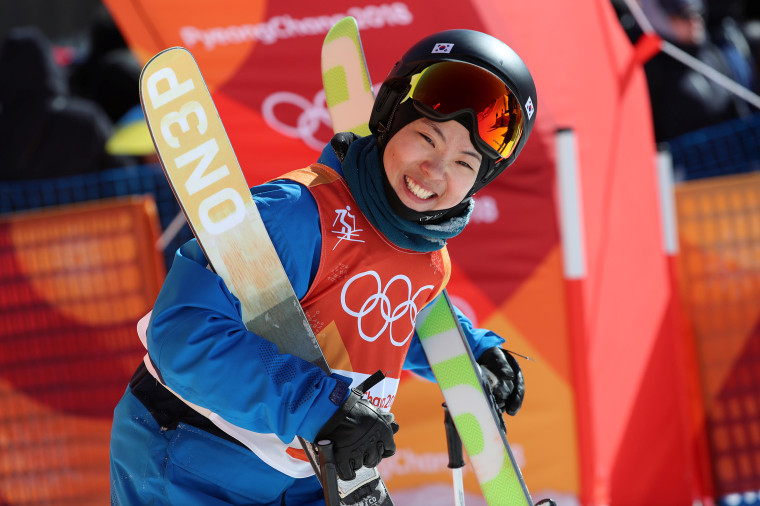 ImagE:Lee Mee-hyun of South Korea competes