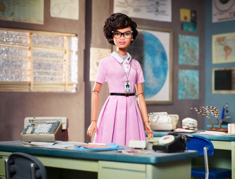 Image: Barbie released a doll of Katherine Johnson