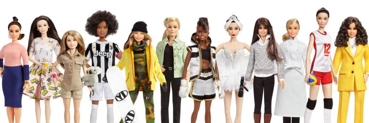 "Image: Barbie released an \""Inspiring Women\"" series"