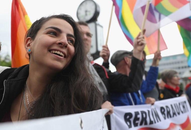 Berlin Marks International Day Against Homophobia