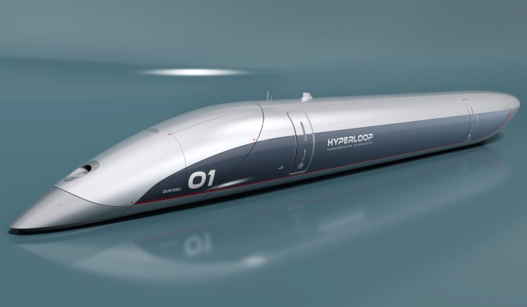 Image: Hyperloop Transportation Technologies capsule
