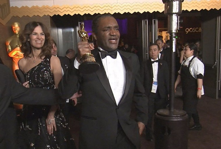 Image: Terry Bryant accused of stealing Frances McDormand's best actress Oscarin Hollywood