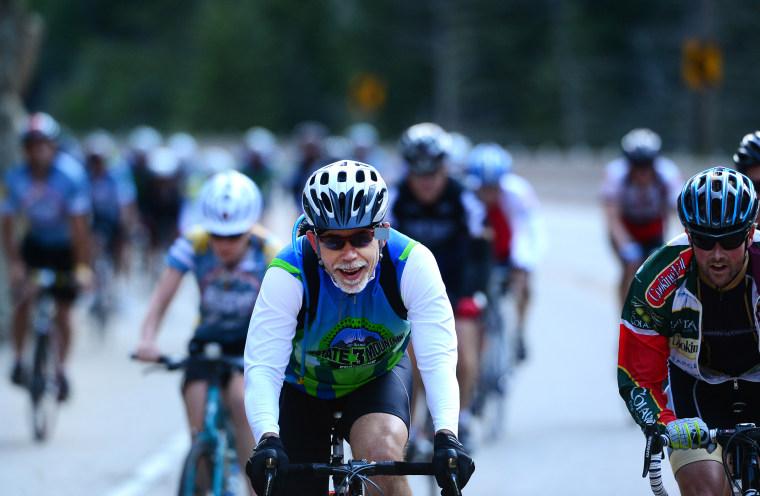 Image: Cyclists